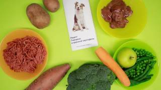 Рецепты натуральной еды для собак от NaturalFoodForDogs