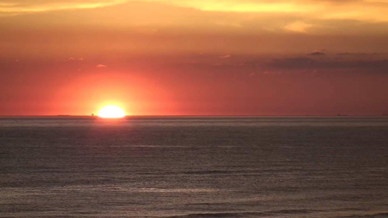 Egmond aan Zee Ondergaande zon in 3 minuten 22 mei 2014