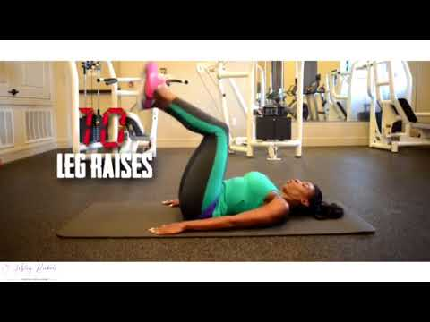 Hamstring And Core Exercises With Ashley Nickole