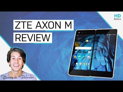 Recensione ZTE Axon M: DOPPIO SCHERMO, poca ergonomia