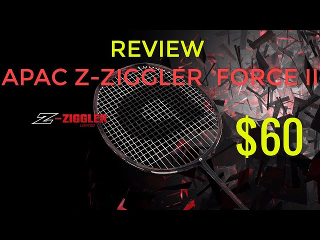 Apacs Z Ziggler Review - The best badminton racket with reasonable price