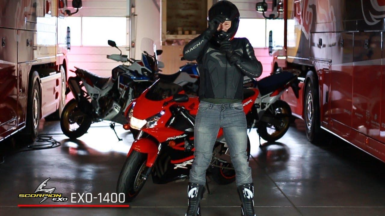 scorpion exo 1400 air helm youtube. Black Bedroom Furniture Sets. Home Design Ideas