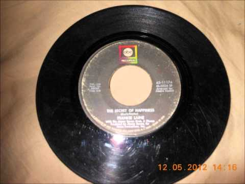 Frankie Laine  -- The Secret Of Happiness