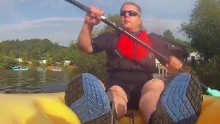 Kayaking in Hidden Vallley Aug 2015