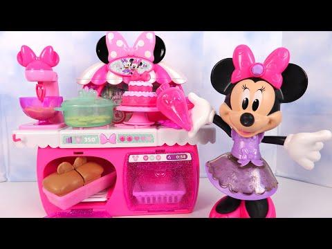 Minnie Mouse Jeu Cuisine Gâteau Bowtastic Pastry Set