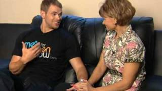Twilight's kellan lutz cares about his mom!