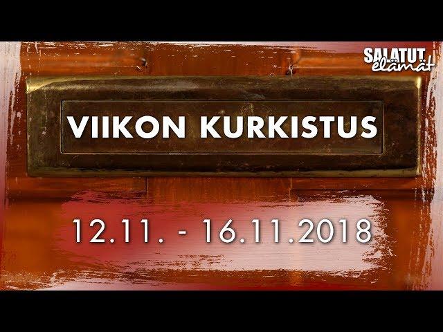 12.11. - 16.11.2018 | Viikon kurkistus |Salatut elämät