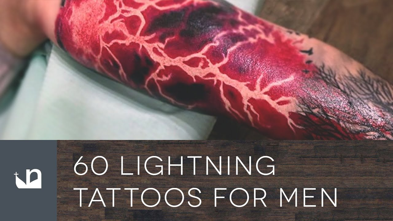 60 Lightning Tattoos For Men