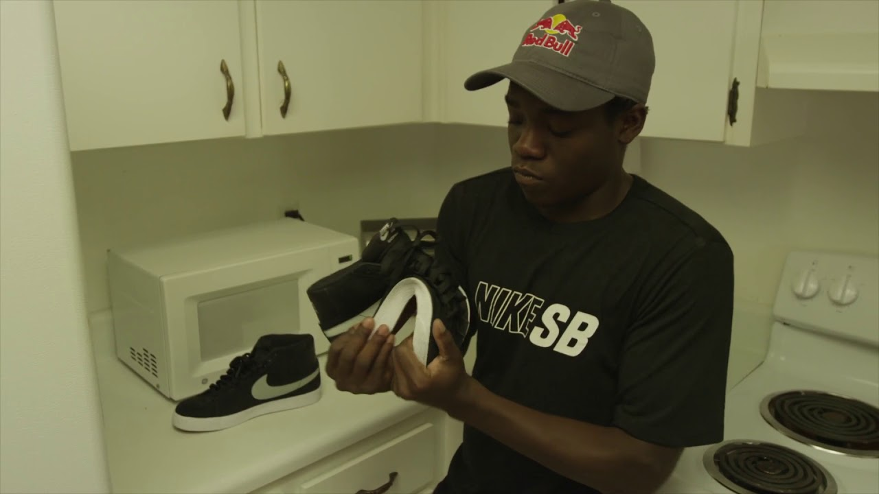 Zion Wright Microwaves his Shoes