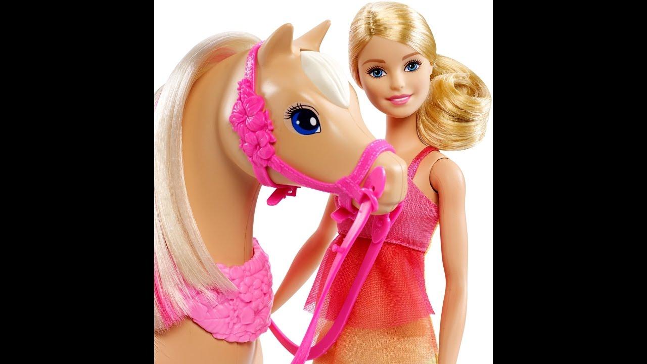 Barbie /& Her Sisters Dancin/' Fun Horse and Doll