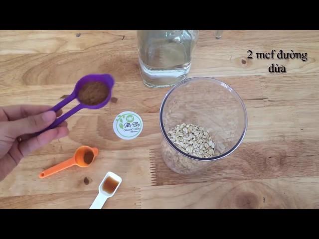 Cách Sữa Yến Mạch Cho Bé Ăn Dặm Tại Nhà Cùng Mẹ Soy