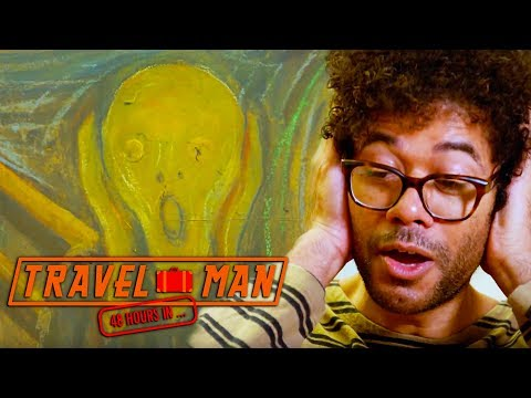 Richard Ayoade & Fay Ripley on The Scream EXCLUSIVE    Travel Man: 48hrs in Oslo...