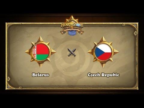 Belarus vs Czech Republic | Hearthstone Global Games