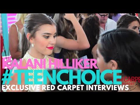 Kalani Hilliker #DanceMoms interviewed at the 2016 Teen Choice Awards Teal Carpet #TeenChoice