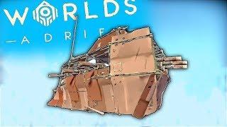 Making The BattleShip BETTER!! | Worlds Adrift Closed BETA Gameplay (PC)