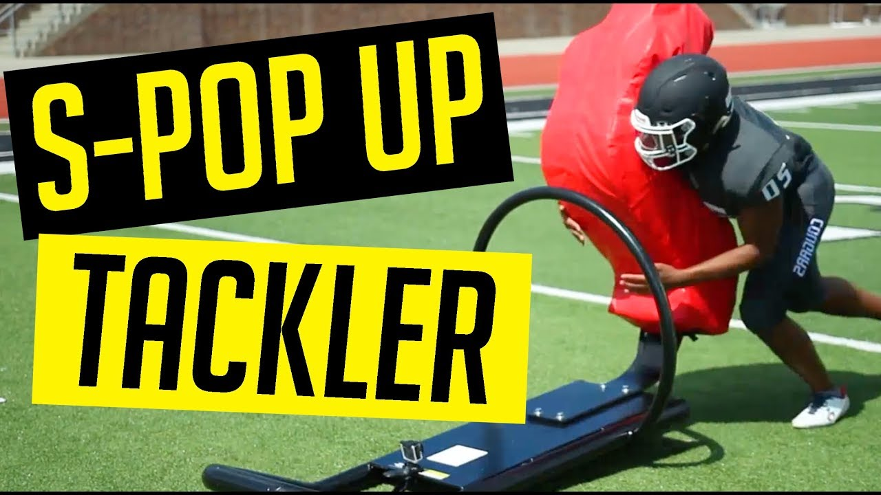 S Pop Up Tackling Sled Football Practice Training Equipment