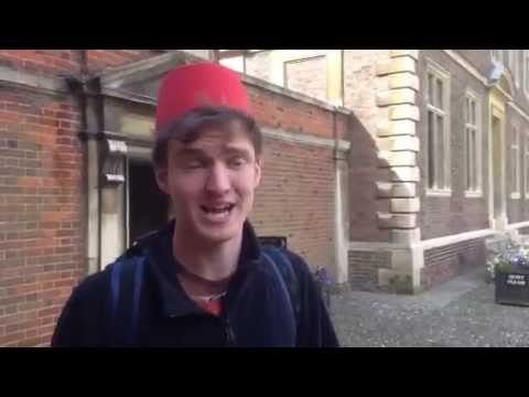 Follow the Fez: Episode 6 - Ramsden Room, St Catharine's College