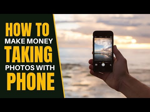 How To Make Money Taking Pictures With Your Phone | Sell Your Photos Online