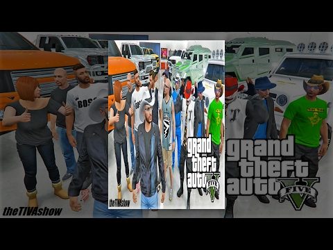GRAND THEFT AUTO V : RAGEOTHON co-host  / AGENTROB47 - GTA 5 RACES - PS4