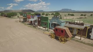 Catron County man creates Old West era town by hand