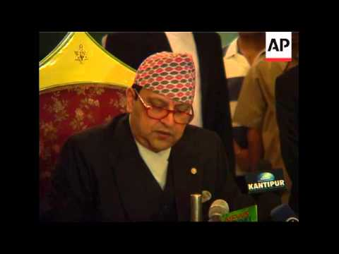 Deposed King Talks To Reporters, Says No Plans To Leave Nepal
