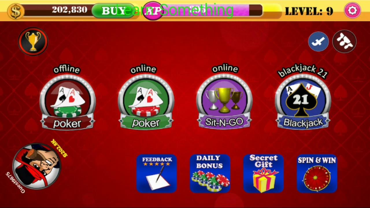 Hack Poker Offline Youtube