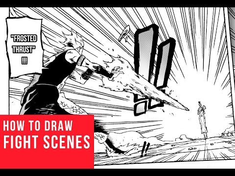 How To Draw Fight Scenes