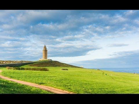 Visita a La Torre de Hercules en La Coruña, el faro y la leyenda