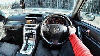 2006 Nissan Skyline V35 2.5 AT - POV TEST Drive / Тест драйв от первого лица