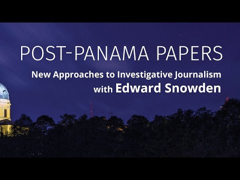 Edward Snowden's interview with Dan Gillmor — Süddeutsche Zeitung Editors Lab
