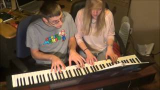 Lara and Kyle play Bach suite no. 2 :)