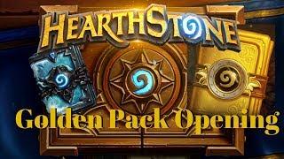 Hearthstone GOLDEN Pack Opening!