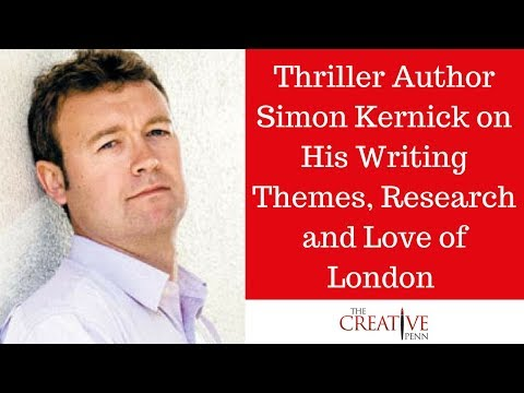 Thriller author Simon Kernick on his writing themes, research and love of London