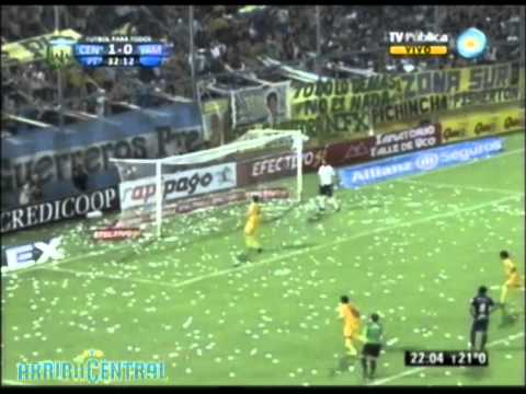 Rosario Central 1 - Independiente de Mendoza 0 - Fecha 28