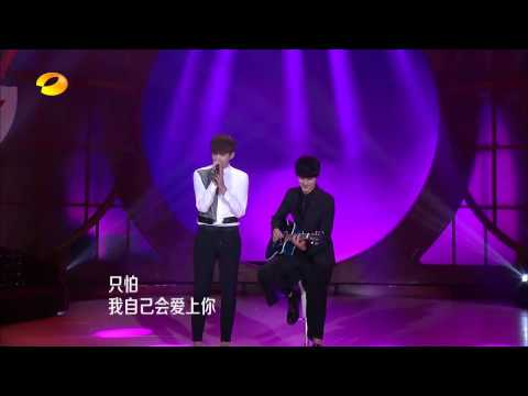[LIVE HD/ENG SUB] Can't Help Falling In Love With You (情非得已)-Wu Yifan/Kris