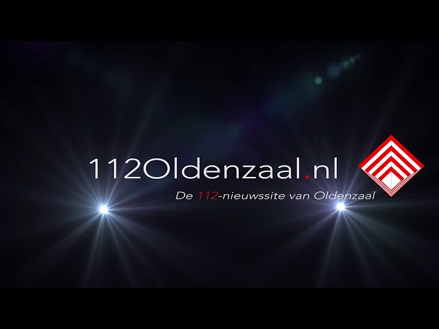 Auto op de kop A1 Oldenzaal