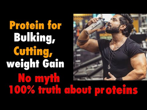 Protein For Weight Loss, Bulking, Cutting | Myth | Whey Protein, Isolate, Hydrolyzed