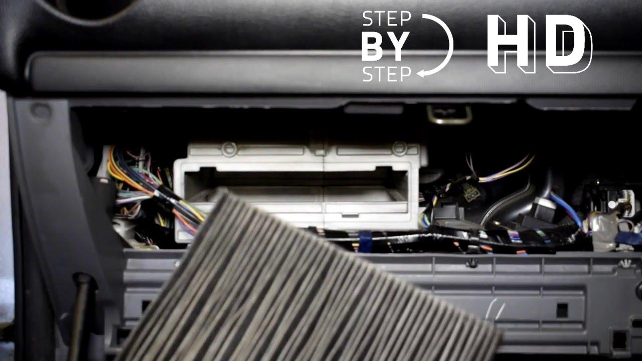 How To Change Replace Cabin Air Filter Mazda 6   HD STEP BY STEP   DIY   DO  IT YOURSELF