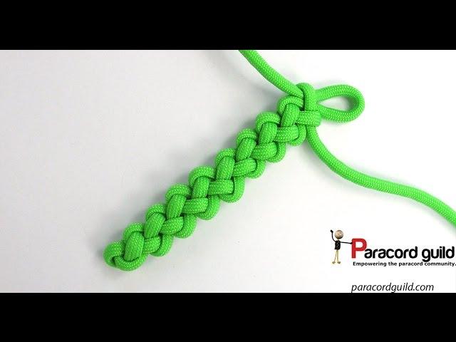 Zipper sinnet- the two strand braid