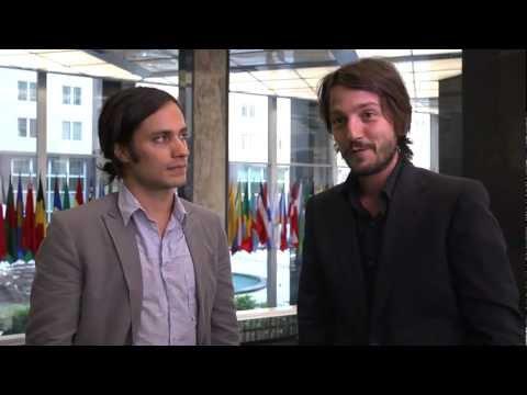 Gael Garcia Bernal & Diego Luna visit the Bureau of Western Hemisphere Affairs