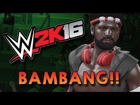 WWE 2K16 Indonesia - BAPAK BAMBANG BERANTEM !! (Momen Lucu Smackdown)