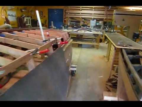 Cutting Keel Landings into Bottom Frames (Part 2) (Preview) Wooden Boat Restoration