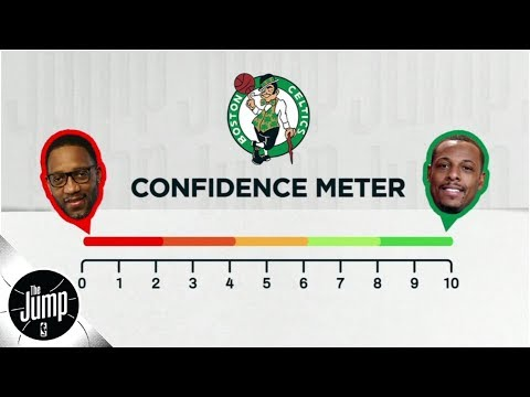 On a scale of Tracy McGrady to Paul Pierce, how much to you believe in the Celtics? | The Jump