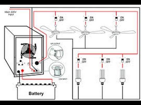 Home Ups Inverter Wiring Diagram