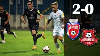 Telekom Sport: FC Botosani - Hermannstadt 2-0 (Liga 1, editia 2018-2019, et 2)
