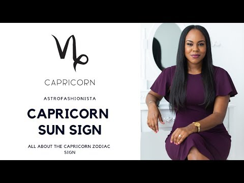 ALL ABOUT CAPRICORN SUN SIGN