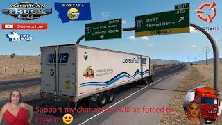 American Truck Simulator (1.37 Beta)  Montana Expansion v0.2.6 by xRECONLOBSTERx Kenworth K100-E  Trailer Jazzycat FMOD ON and Open Windows Next-Gen Graphics USA + DLC's & Mods https://forum.scssoft.com/viewtopic.php?f=194&t=273228  Support me please than
