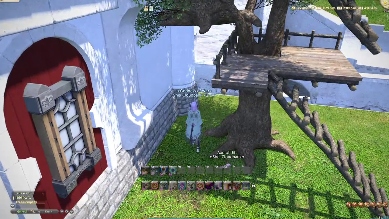 FFXIV Method 1: Two Places to Float Tree Houses
