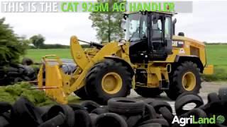 CAT 926M 'Ag Handler' tackling Irish silage (2017)