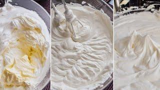 Tortlar uchun 3 hil krem tort tayorlemiz tez va oson/ кремы для тортов  быстро и вкусно